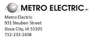 metro with address