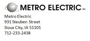 metro with address
